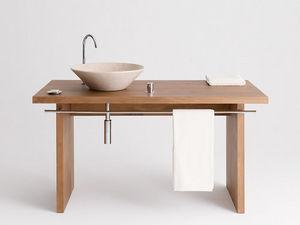 Design & Handwerk - wachtisch buche massiv, reeling - Waschtisch Möbel