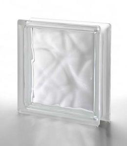 Rouviere Collection - brique de verre en épaisseur 5 cm - Glasbaustein