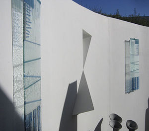 Jo Vincent Glass Design - wall panels - Zierpaneel Aus Glas