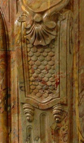 MAISON & MAISON - Rauchfangmantel-MAISON & MAISON-Ducs de Nantes, Cheminée sur mesure en marbre