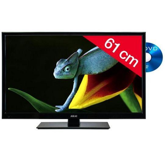 AKAI France - LCD Fernseher-AKAI France-ATE-24D614K - noir - Combo LED/DVD
