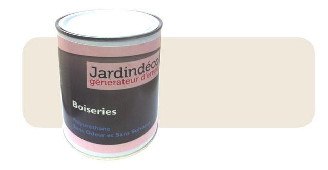 Peinturokilo - Holzfarbe-Peinturokilo-Peinture crème pour meuble en bois brut 1 litre
