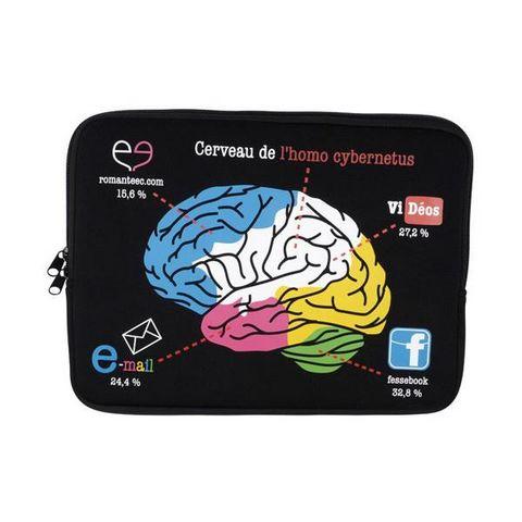La Chaise Longue - -La Chaise Longue-Etui d'ordinateur portable 15 brain