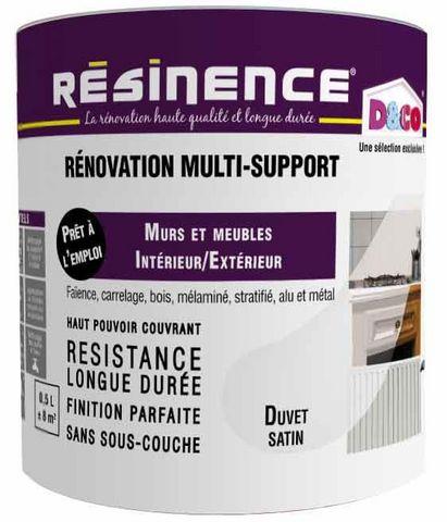 RESINENCE - Farbe für multiple Anwendungsbereiche-RESINENCE-R�novation Multi-Suport