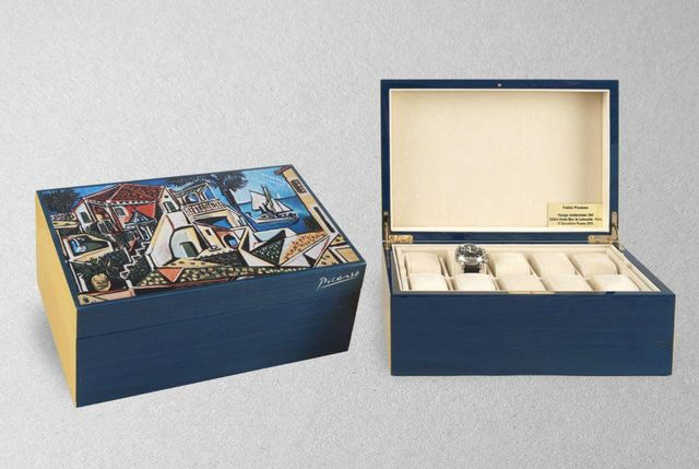 MARC DE LADOUCETTE PARIS - Armbanduhrkasten-MARC DE LADOUCETTE PARIS-Picasso