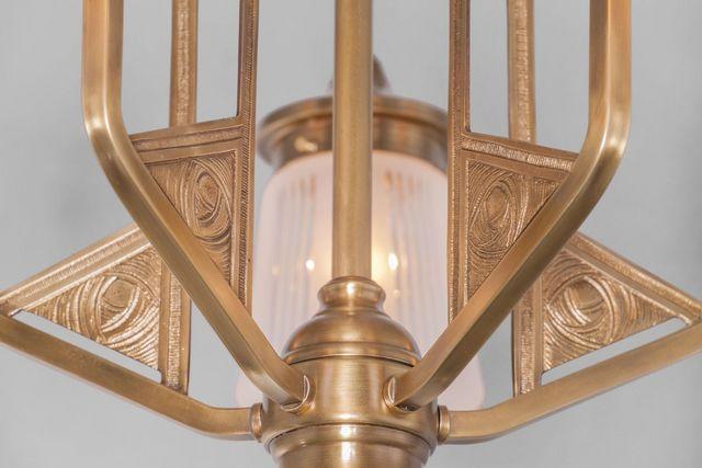 PATINAS - Kronleuchter-PATINAS-Luzern 5 armed chandelier