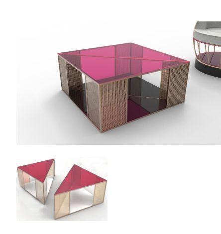 DESINVOLTE DESIGN - Originales Couchtisch-DESINVOLTE DESIGN-Nano