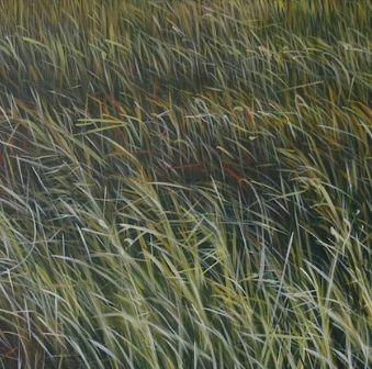 MANUEL CANCEL - Zeitgenössische Gemälde-MANUEL CANCEL-Grass