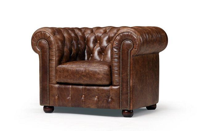 ROSE & MOORE - Chesterfield Sessel-ROSE & MOORE