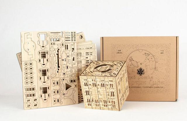 NKD PUZZLE - Lernspiel-NKD PUZZLE-KIT Scriptum Cube