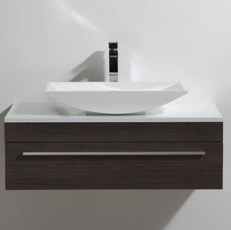 Thalassor - Waschtisch Möbel-Thalassor-Curl 90 Legno