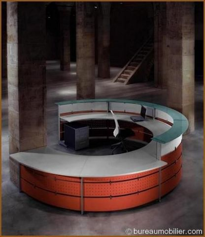 BM Bureau - Empfangsbank-BM Bureau-Accueil Diversia