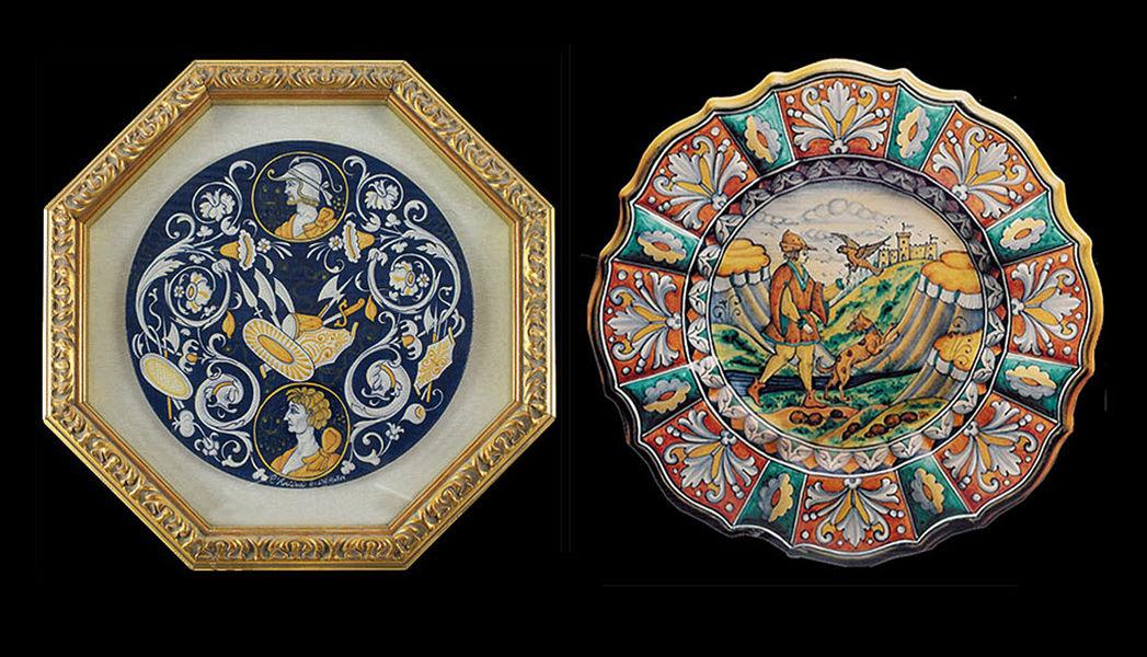 L'antica Deruta Plato decorativo Platos decorativos Objetos decorativos  |