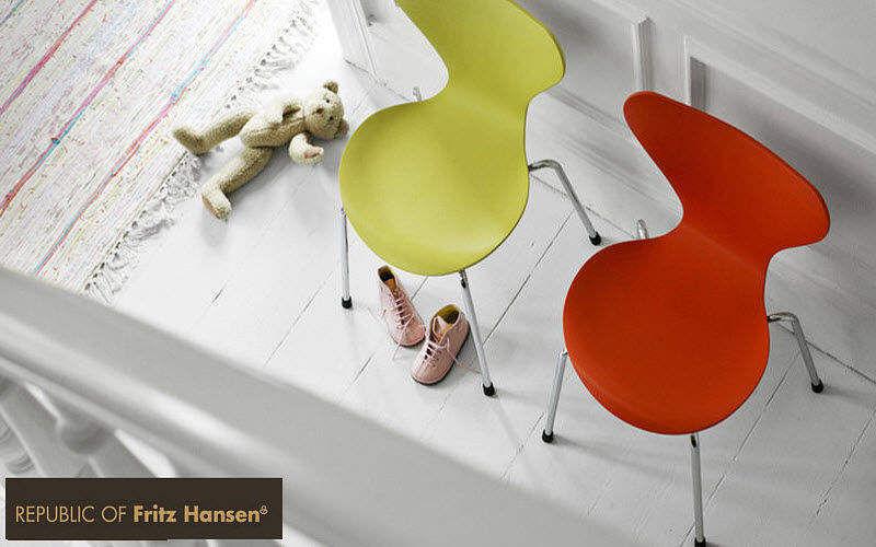 Fritz Hansen Silla para niño Sillas para niño El mundo del niño Dormitorio infantil |