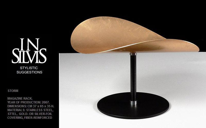 INSILVIS Revistero Pequeños muebles para ordenar Armarios Cómodas Despacho |