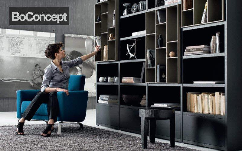 BoConcept France Librería abierta Librerías Armarios Cómodas  |