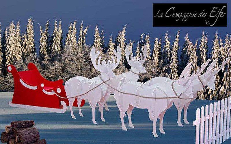 La Compagnie des Elfes Decoración de árbol de Navidad Decoración y motivos navideños Navidad y Fiestas  |
