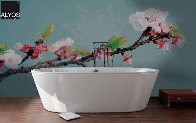 ALYOS Papel pintado panorámico Papeles pintados Paredes & Techos Baño | Design Contemporáneo