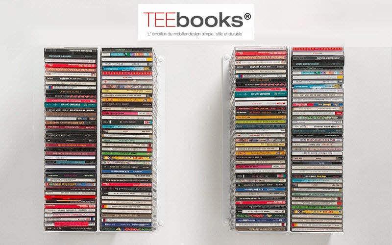 TEEBOOKS Mueble CD Pequeños muebles para ordenar Armarios Cómodas  |
