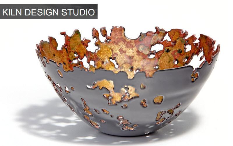 Kiln Design Studio Copa decorativa Estuches & recipientes contenedores Objetos decorativos  |