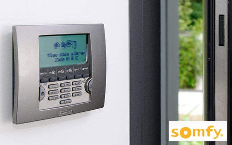 Somfy Architecture Alarma Alarmas Automatización doméstica  |