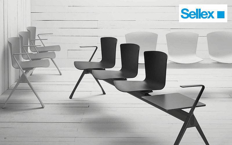 SELLEX Hilera de sillas Sillas de oficina Despacho  |