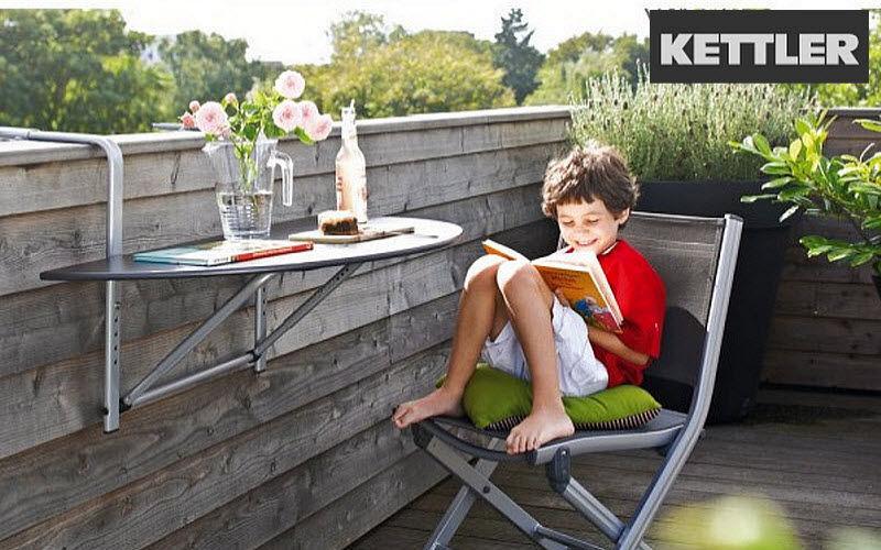 Kettler Mesa de balcón Mesas de jardín Jardín Mobiliario  |