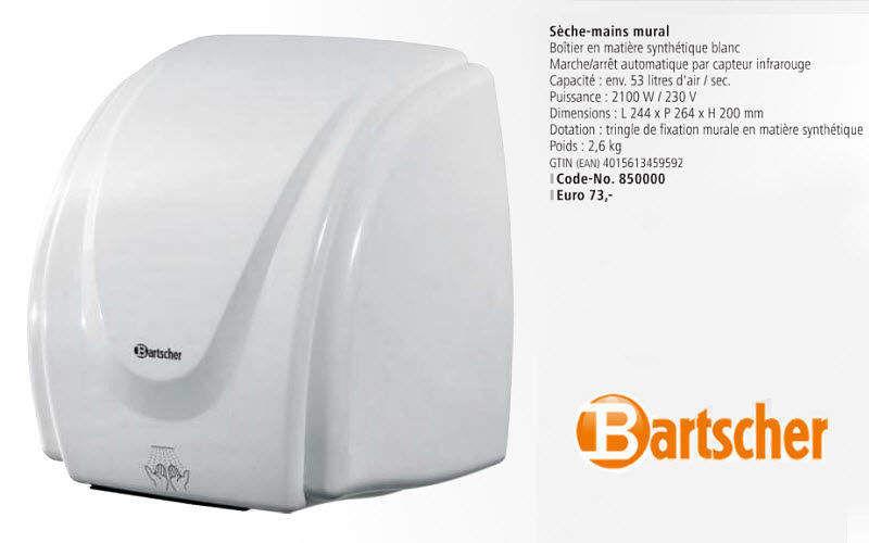Bartscher Secador de manos Accesorios de baño Baño Sanitarios  |