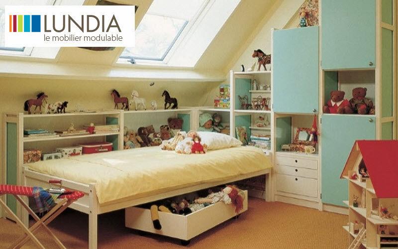 Lundia Habitación niño 4-10 años Dormitorio infantil El mundo del niño  |