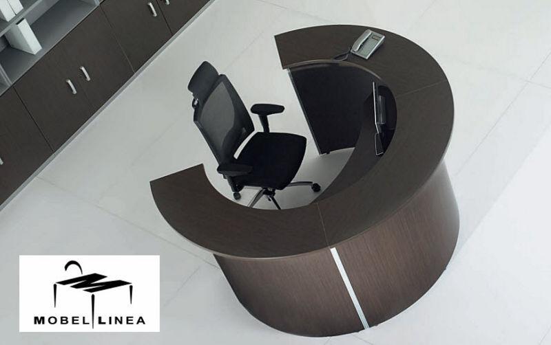 Mobel Linea Mostrador de recepción Mesas y escritorios Despacho  |