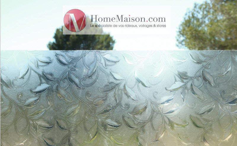 HOMEMAISON.COM Lámina adhesiva intimidad Películas & velos Puertas y Ventanas  |