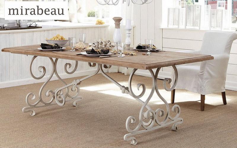MIRABEAU Mesa de comedor rectangular Mesas de comedor & cocina Mesas & diverso Comedor | Rústico