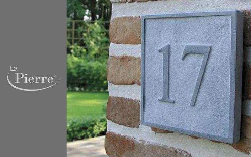 Signum Concept Número de casa Placa de señalización Jardín Diverso  |