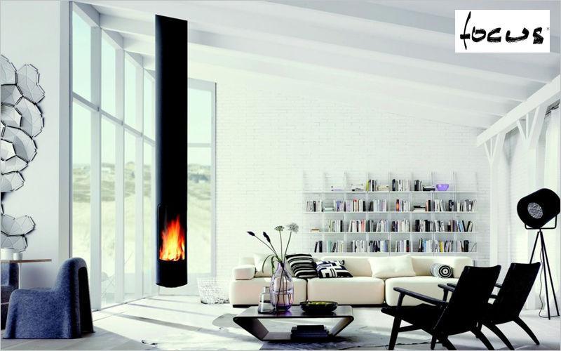 Focus Estufa de madera Estufas e instalaciones de calefacción Chimenea  | Design Contemporáneo