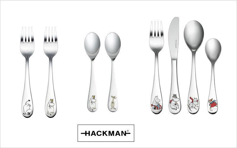 Hackman Cubiertos para niño Accesorios de mesa para niño El mundo del niño   |