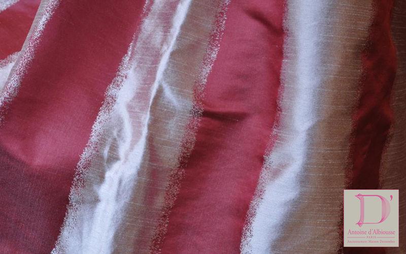 Antoine d'Albiousse Tela para tapicerías Telas decorativas Tejidos Cortinas Pasamanería   