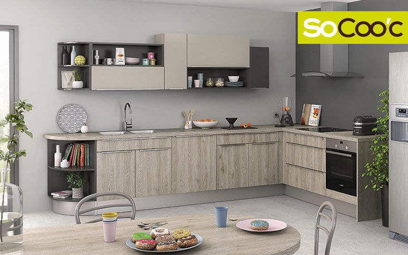 SOCOO'C Cocinas completas Equipo de la cocina   