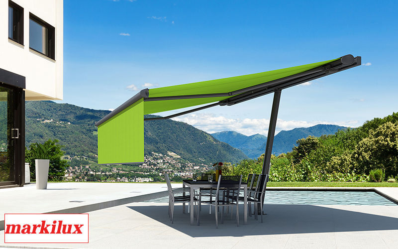markilux Cubierta para terraza Sombrillas y estructuras tensadas Jardín Mobiliario  |
