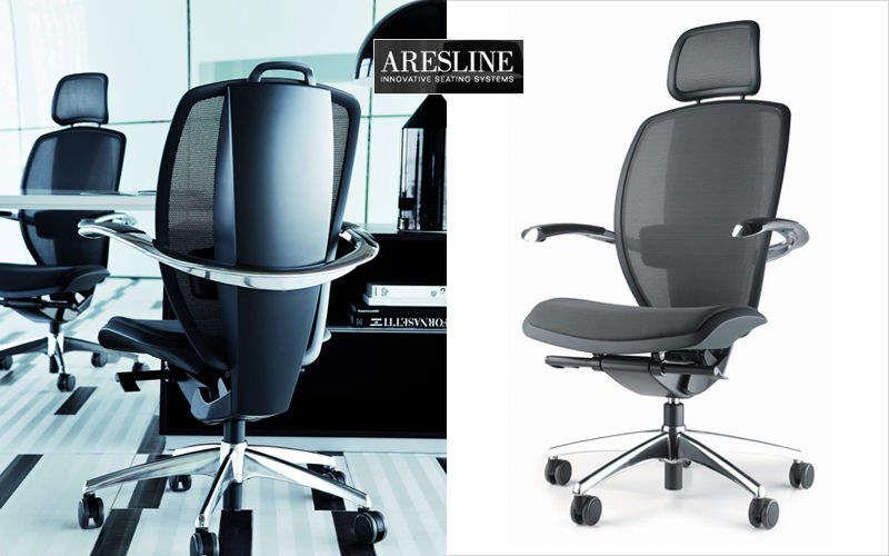 ARESLINE Sillón de escritorio Sillas de oficina Despacho  |