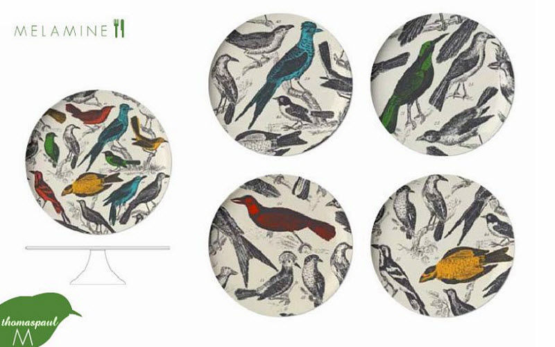 THOMAS PAUL Plato de plástico Presenta-platos Vajilla  |