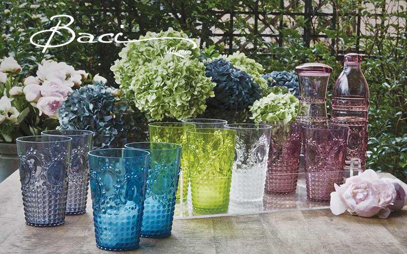 BACI  MILANO Servicio de refrescos Juegos de cristal (copas & vasos) Cristalería  |
