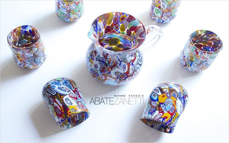 Abate Zanetti Servicio de refrescos Juegos de cristal (copas & vasos) Cristalería  |