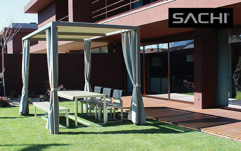Sachi Estructura tensada de tela Sombrillas y estructuras tensadas Jardín Mobiliario   