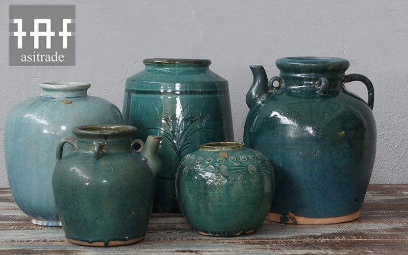 Asitrade Jarrón Estuches & recipientes contenedores Objetos decorativos  |