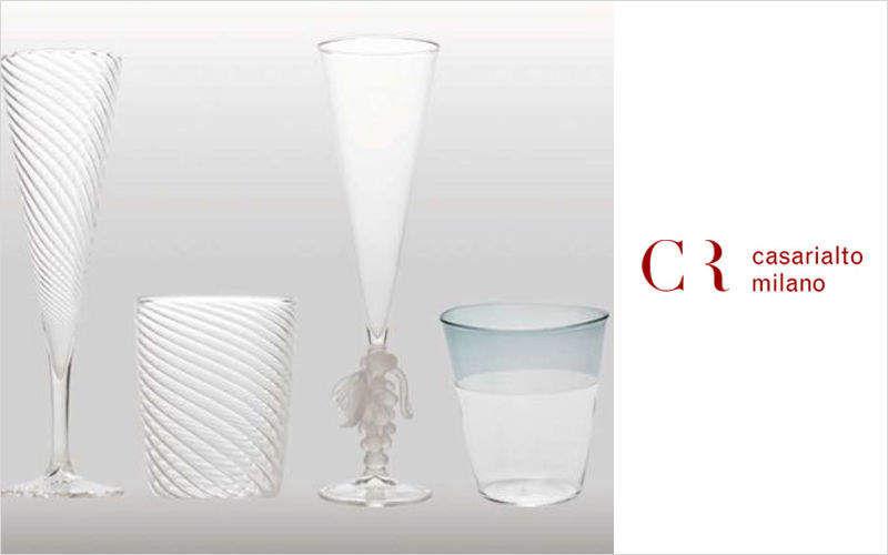 CASARIALTO MILANO Flauta de champán Vasos Cristalería   