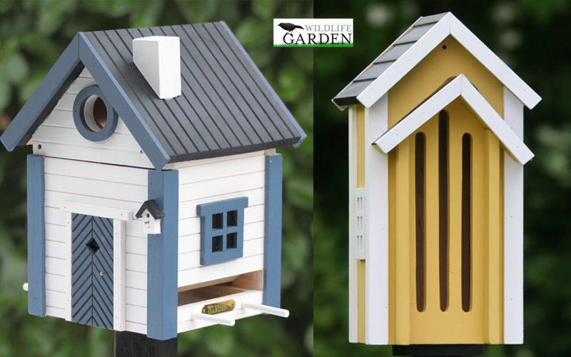 Wildlife Garden Casa de pájaros Ornamentos de exterior Jardín Diverso  |
