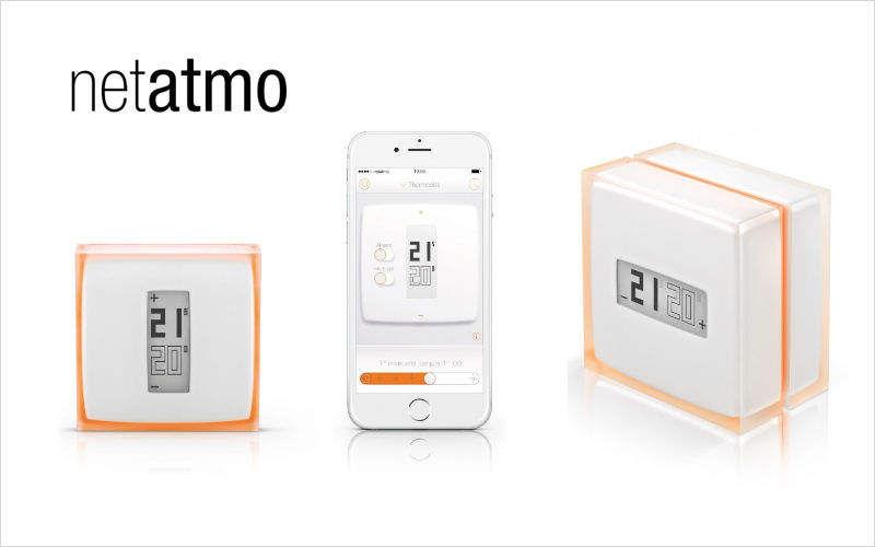 NETATMO Termostato conectada Sistemas domóticos Automatización doméstica  |