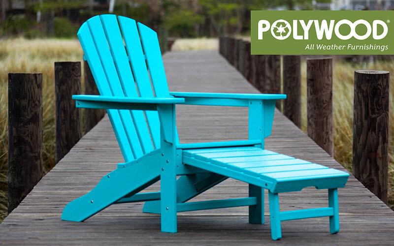 PolyWood Adirondack Sillones de exterior Jardín Mobiliario  |