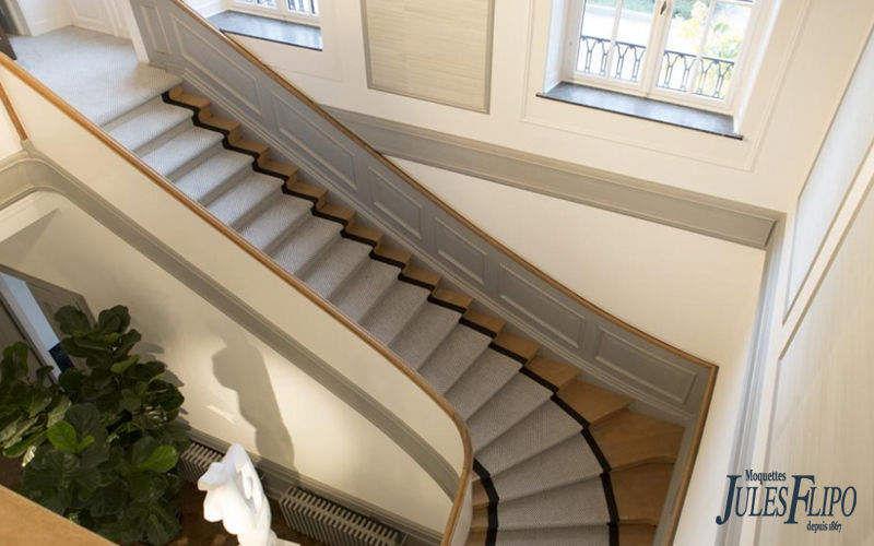 Moquettes Jules Flipo Alfombra de escalera Alfombra de entrada Alfombras Tapices  |