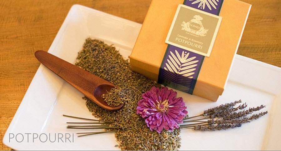 Agraria Pot-pourri Aromas Flores y Fragancias  |